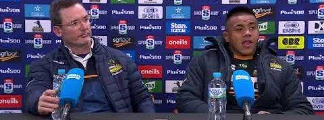 Super Rugby Trans-Tasman Round Five: Brumbies press conference
