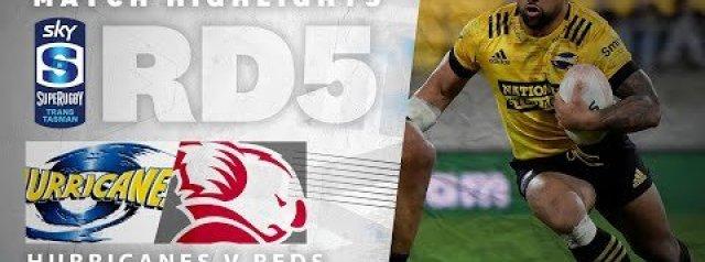 HIGHLIGHTS: Hurricanes v Queensland Reds