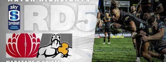 HIGHLIGHTS: NSW Waratahs v Chiefs