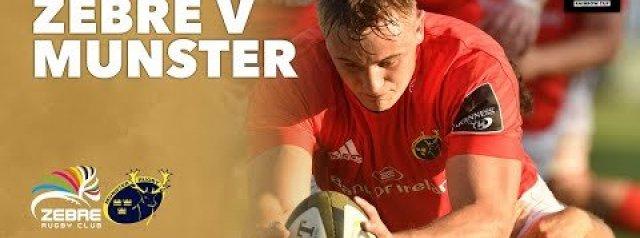 HIGHLIGHTS: Zebre Rugby v Munster Rugby