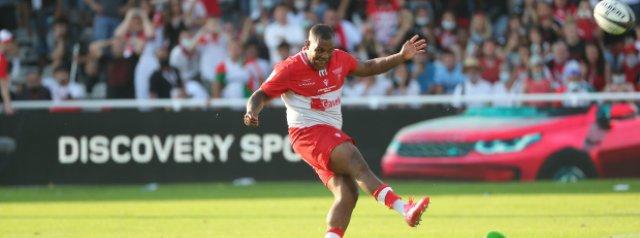 Watch: Steffon Armitage slots the match winning kick for Biarritz in a penalty shootout