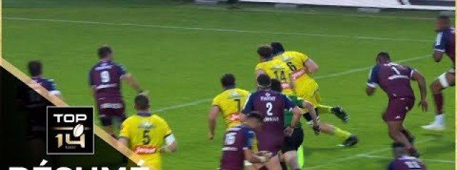 TOP 14 HIGHLIGHTS: Union Bordeaux Begles Vs Clermont Auvergne