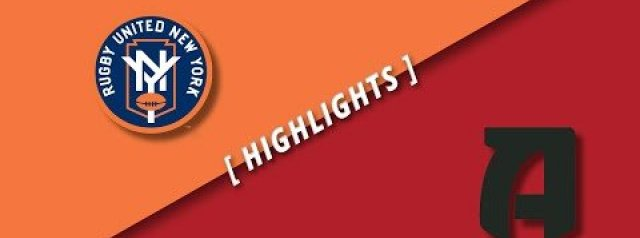 HIGHLIGHTS: Rugby United New York v Rugby ATL