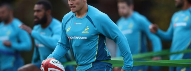 Perese to miss out on Wallaby debut