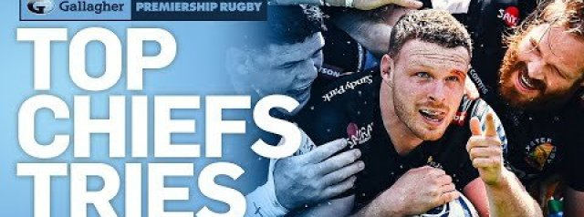 Exeter Chiefs Best Tries This Season! | Playoff Semi Finals | Premiership 2020/21