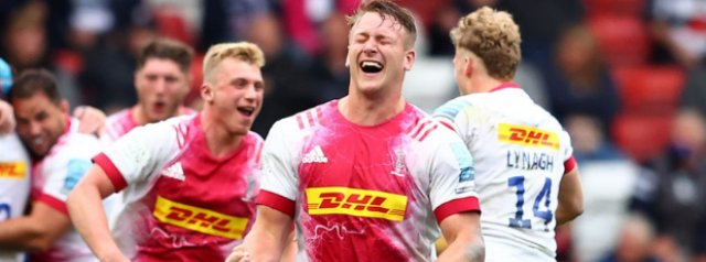 INSTANT CLASSIC: Harlequins reach the Premiership Final in a thrilling win over Bristol