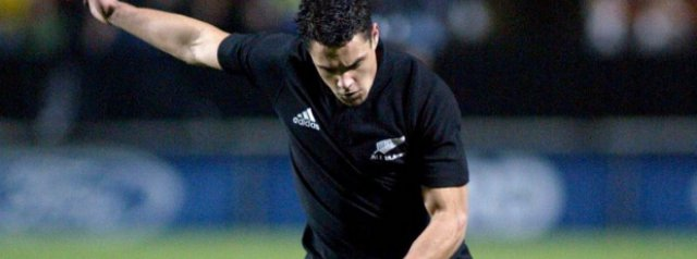 18 years ago today, Dan Carter scores 20 points on debut against Wales