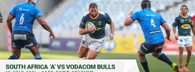 VIDEO HIGHLIGHTS: South Africa A v Bulls