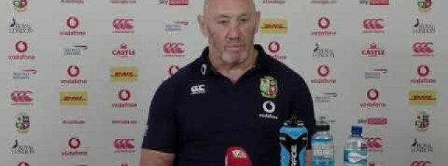 Lions 2021 Press Conference: Robin McBryde