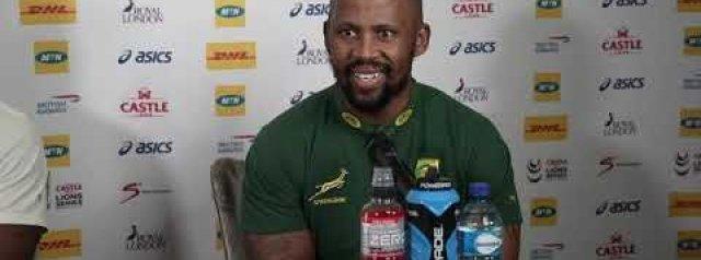 Siya Kolisi and Mzwandile Stick press conference ahead of Lions clash