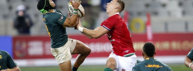 Lions' aerial victory key in Test win – Nienaber