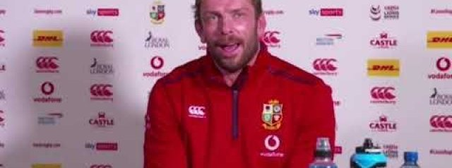 South Africa 17-22 The Lions   Alun Wyn Jones post-match press conference.