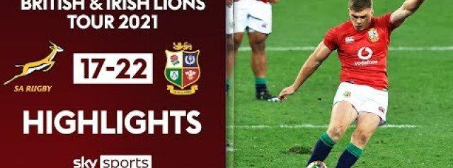 Match Highlights: Springboks v Lions