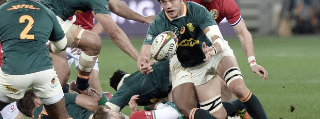 Springboks: Top stats performers - tackles, turnovers & more