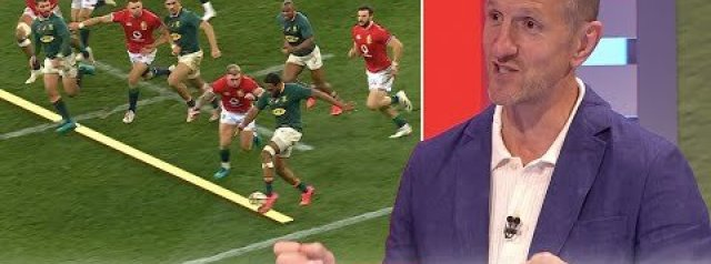 Did the referee make the correct decisions? | South Africa 17-22 Lions | Analysis
