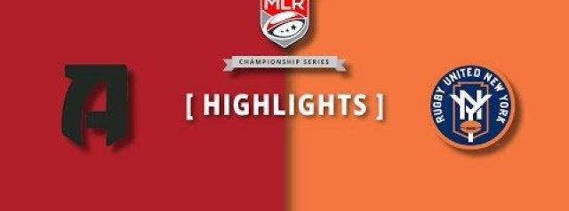 MLR Highlights: Atlanta vs New York