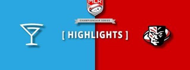 MLR Highlights: LA Giltinis Vs Utah Warriors