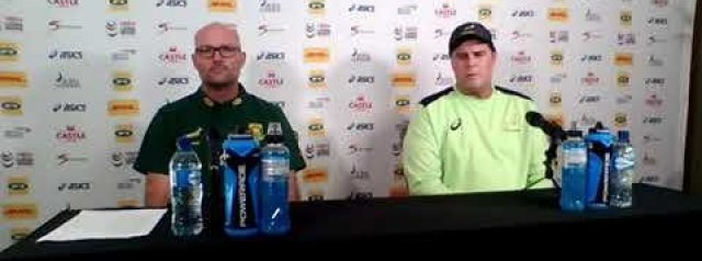 Full press conference: Jacques Nienaber & Rassie Erasmus - team announcement 2nd test