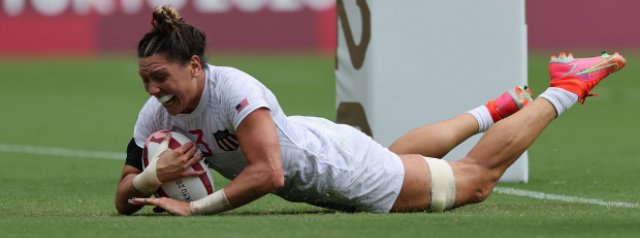 Quarter-final line-up decided in electrifying women's Olympic rugby sevens session in Tokyo