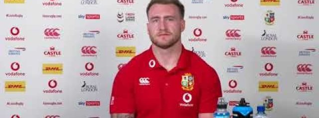 Hear from Robin McBryde and Stuart Hogg ahead of Saturday's second Test