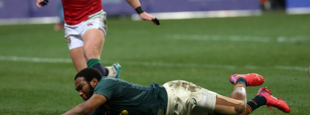 South Africa 27-9 British and Irish Lions: World champions fight back after first-half slog
