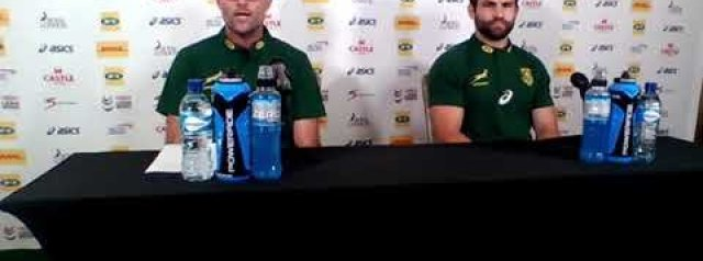 Jacques Nienaber on choosing Morne Steyn over Elton Jantjies on the bench for 3rd test