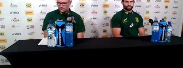 Springbok team announcement for 3rd test: Jacques Nienaber and Cobus Reinach