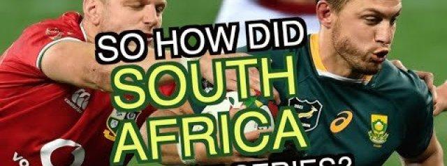 So how did South Africa level the series?   British & Irish Lions Tour 2021   Squidge Report