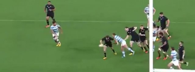 Incredible by Beauden Barrett, just incredible