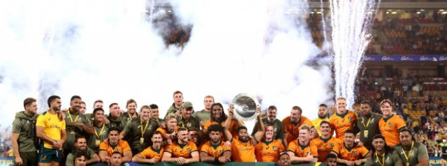 Wallabies retain Mandela shield after bonus point victory over South Africa