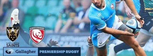 HIGHLIGHTS: Northampton Saints v Gloucester Rugby
