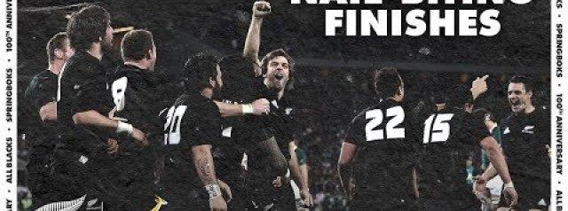 Six NAIL-BITING All Blacks v South Africa finishes