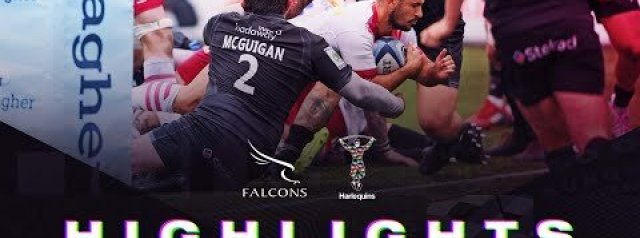 Premiership Highlights - Harlequins secure bonus point win over Newcastle Falcons in opening round