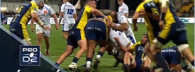Pro D2 Highlights: USON Nevers Vs Colomiers