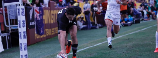 United States 14-104 New Zealand: Ruthless 16-try All Blacks run riot to win inaugural 1874 Cup Test