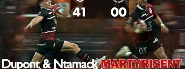 Highlights: Dupont and Ntamack star against Castres